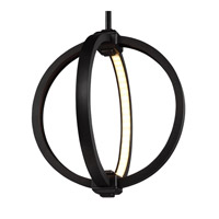 Feiss P1391ORB Khloe 12 inch Oil Rubbed Bronze Globe Pendant Ceiling Light