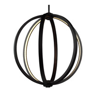 Khloe 20 inch Oil Rubbed Bronze Globe Pendant Ceiling Light