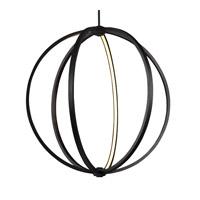 Feiss P1393ORB Khloe 30 inch Oil Rubbed Bronze Globe Pendant Ceiling Light
