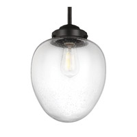Feiss Alcott 1 Light Pendant in Oil Rubbed Bronze P1399ORB-F