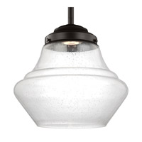 Feiss P1407ORB-LED Alcott 1 Light 12 inch Oil Rubbed Bronze Pendant Ceiling Light in Integrated LED