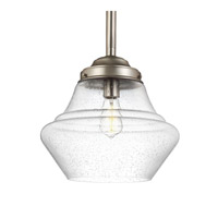 Alcott 1 Light 14 inch Satin Nickel Pendant Ceiling Light in Standard