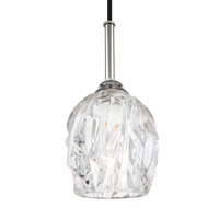 Rubin 1 Light 5 inch Polished Nickel Pendant Ceiling Light