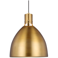 Brynne LED 17 inch Burnished Brass Pendant Ceiling Light