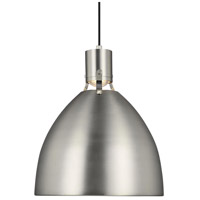 Brynne LED 17 inch Satin Nickel Pendant Ceiling Light