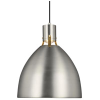 Feiss P1443SN-L1 Brynne LED 17 inch Satin Nickel Pendant Ceiling Light alternative photo thumbnail