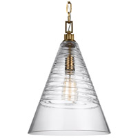 Elmore 1 Light 12 inch Burnished Brass Pendant Ceiling Light