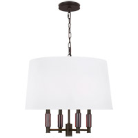 Feiss P1520ORB Lismore 4 Light 20 inch Oil Rubbed Bronze Pendant Ceiling Light