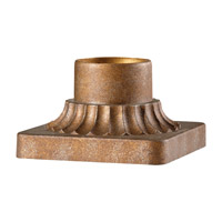 Feiss PIER-MT-BZ Pier Mounting 6 inch Bronze Pier and Post Accessory