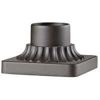 Pier Mounting 6 inch Oil Rubbed Bronze Pier and Post Accessory