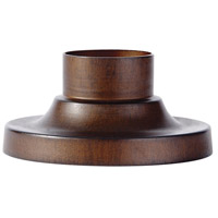 Feiss PIER-MT-SBR Pier Mounting 3 inch Sorrel Brown Pier and Post Accessory