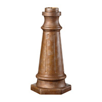 Feiss POSTBASE-BRB Postbase 21 inch British Bronze Pier and Post Accessory