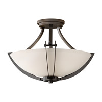 Feiss Brody 3 Light Semi Flush Mount in Colonial Iron SF297CI photo thumbnail