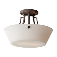 Feiss Weston 2 Light Semi-Flush in Colonial Iron SF306CI-F