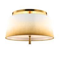 Feiss Tori 3 Light Semi-Flush in Bali Brass SF316BLB