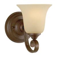 Feiss Vista 1 Light Vanity Strip in Corinthian Bronze VS10401-CB photo thumbnail