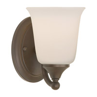 Claridge 1 Light 5 inch Oil Rubbed Bronze Vanity Strip Wall Light