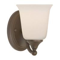 Feiss VS10501-ORB Claridge 1 Light 5 inch Oil Rubbed Bronze Vanity Strip Wall Light