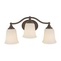 Feiss Claridge 3 Light Vanity Strip in Oil Rubbed Bronze VS10503-ORB photo thumbnail