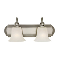 Feiss Vista 2 Light Vanity Strip in Brushed Steel VS10702-BS