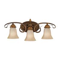 Sonoma Valley 3 Light 25 inch Aged Tortoise Shell Vanity Strip Wall Light