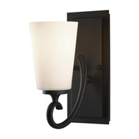 Feiss Peyton 1 Light Vanity Strip in Black VS16501-BK photo thumbnail