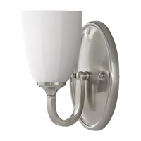 Feiss Perry 1 Light Vanity Strip in Brushed Steel VS17401-BS