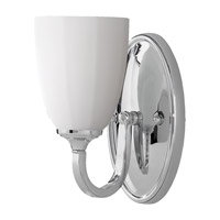 Perry 1 Light 5 inch Chrome Vanity Strip Wall Light in 4.625