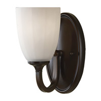 Perry 1 Light 5 inch Heritage Bronze Vanity Strip Wall Light in 4.625