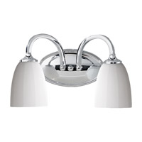 Feiss Perry 2 Light Vanity Strip in Chrome VS17402-CH