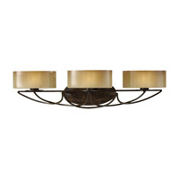 El Nido 3 Light 28 inch Mocha Bronze Vanity Strip Wall Light