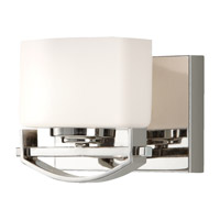 Feiss Bleeker Street 1 Light Vanity Strip in Polished Nickel VS18201-PN photo thumbnail