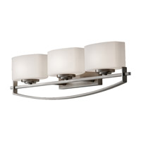 Feiss Bleeker Street 3 Light Vanity Strip in Brushed Steel VS18203-BS photo thumbnail