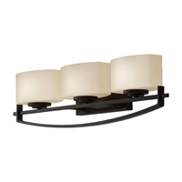 Feiss Bleeker Street 3 Light Vanity Strip in Oil Rubbed Bronze VS18203-ORB