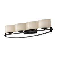 Feiss Bleeker Street 4 Light Vanity Strip in Oil Rubbed Bronze VS18204-ORB