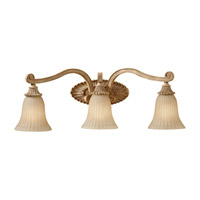 Feiss Blaire 3 Light Vanity Strip in Medium Aged Wood VS18803-MAW