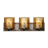 Aris 3 Light 25 inch Roman Bronze Vanity Strip Wall Light