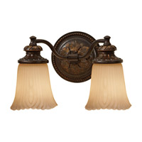 Feiss Emma 2 Light Vanity Strip in Grecian Bronze VS19502-GBZ