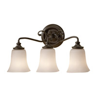 Feiss Brook Haven 3 Light Vanity Strip in Oil Rubbed Bronze VS19603-ORB photo thumbnail