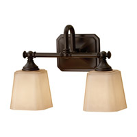 Feiss Concord 2 Light Vanity Strip in Oil Rubbed Bronze VS19702-ORB