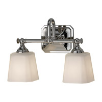 Feiss Concord 2 Light Vanity Strip in Polished Nickel VS19702-PN