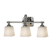 Feiss VS19703-PN Concord 3 Light 21 inch Polished Nickel Vanity Strip Wall Light in Opal Etched Glass photo thumbnail