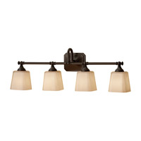 Feiss Concord 4 Light Vanity Strip in Oil Rubbed Bronze VS19704-ORB
