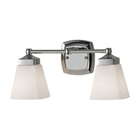 Feiss Delaney 2 Light Vanity Strip in Polished Nickel VS19902-PN