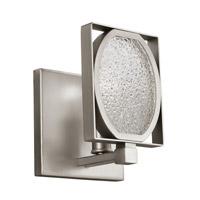 Feiss Illuminant 1 Light Wall Bath Fixture in Satin Nickel VS21801SN