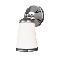 Eastwood 1 Light 5 inch Polished Nickel Wall Sconce Wall Light in Standard