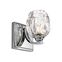 Kalli 1 Light 5 inch Chrome Vanity Wall Light