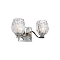 Feiss VS22702CH-L1 Kalli LED 13 inch Chrome Vanity Light Wall Light