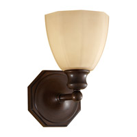 Feiss Nella 1 Light Vanity Strip in Heritage Bronze VS23001-HTBZ