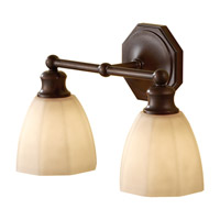 Feiss Nella 2 Light Vanity Strip in Heritage Bronze VS23002-HTBZ